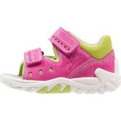 Superfit FLOW Sandały pink. Czerwone sandały chłopięce marki Superfit, z materiału. Za 229,00 zł.