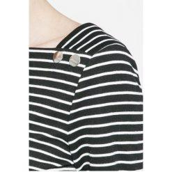 Vila - Bluzka Sonja. Szare bluzki z odkrytymi ramionami Vila, l, z bawełny, casualowe. W wyprzedaży za 49,90 zł.