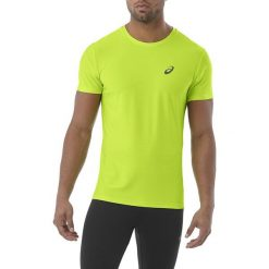 Asics Koszulka męska SS TOP zielona r. M (134084 0432). Zielone t-shirty męskie Asics, m. Za 79,99 zł.