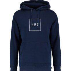 Bejsbolówki męskie: HUF OUTLINE BOX LOGO  Bluza z kapturem navy