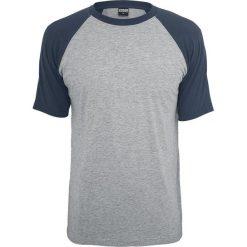 Urban Classics Raglan Contrast Tee T-Shirt odcienie szarego/granatowy. Niebieskie t-shirty męskie marki Urban Classics, l, z okrągłym kołnierzem. Za 42,90 zł.