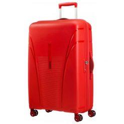 American Tourister Walizka Skytracer 77 Cm Czerwona. Czerwone walizki marki American Tourister. W wyprzedaży za 549,00 zł.