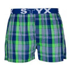 Bokserki męskie: Styx Bokserki Męskie M, Zielony