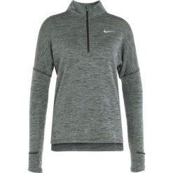 Nike Performance RUNNING THERMA SPHERE Koszulka sportowa sequoia/heather/silver. Zielone t-shirty damskie Nike Performance, l, z elastanu, z długim rękawem. Za 299,00 zł.