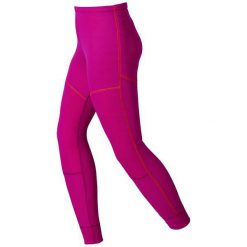 Odlo Spodnie termoaktywne Odlo Pants X-Warm Kids różowe r. 104 (155179104). Białe spodnie chłopięce marki Reserved, l. Za 149,95 zł.