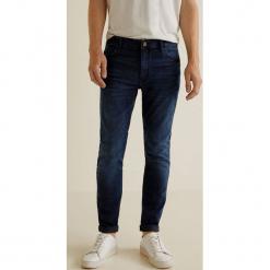 Mango Man - Jeansy Jude3. Niebieskie jeansy męskie skinny Mango Man. Za 139,90 zł.
