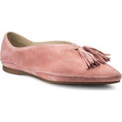 Półbuty VAGABOND - Antonia 4313-140-58 Rose Pink. Czerwone creepersy damskie Vagabond, z materiału, na płaskiej podeszwie. W wyprzedaży za 269,00 zł.