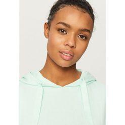 Bluza z kapturem - Zielony - 2