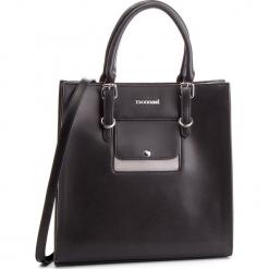 Torebka MONNARI - BAG2470-020 Black With Grey. Czarne torebki klasyczne damskie Monnari, ze skóry ekologicznej. W wyprzedaży za 199,00 zł.