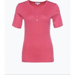 Brookshire - T-shirt damski, różowy. Czarne t-shirty damskie marki brookshire, m, w paski, z dżerseju. Za 89,95 zł.