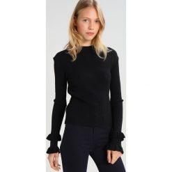 Swetry klasyczne damskie: Tiger of Sweden Jeans KAY     Sweter black