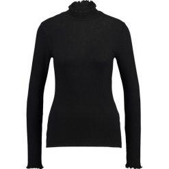 Swetry klasyczne damskie: Abercrombie & Fitch SLIM MOCK NECK Sweter black