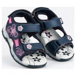 Sandały dziewczęce niebieskie r. 29. Niebieskie sandały dziewczęce American CLUB. Za 106,59 zł.