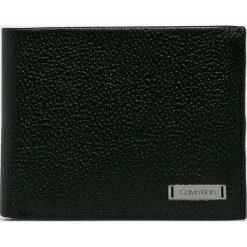 Calvin Klein - Portfel skórzany. Czarne portfele męskie Calvin Klein. Za 299,90 zł.