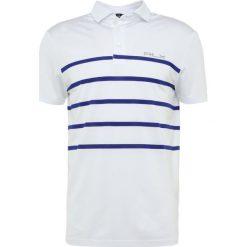 Polo Ralph Lauren Golf PRO FIT Koszulka sportowa pure white/city. Białe koszulki polo marki Polo Ralph Lauren Golf, m, z elastanu. W wyprzedaży za 370,30 zł.
