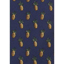 Krawaty męskie: Polo Ralph Lauren PINEAPPLE MADISON Krawat navy