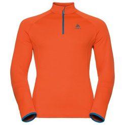 Odlo Bluza tech. Odlo Midlayer 1/2 zip INYO                    - 528202 - 528202/30307/L. Czerwone bluzy sportowe damskie Odlo, l. Za 250,67 zł.