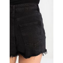 Bermudy damskie: Topshop MOM  Szorty jeansowe washedblack