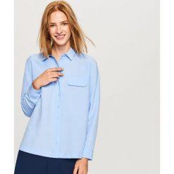 Błękitna koszula - Niebieski. Niebieskie koszule damskie marki Reserved. W wyprzedaży za 69,99 zł.