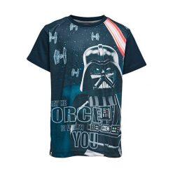 """T-shirty chłopięce z nadrukiem: Koszulka """"M-72367"""" w kolorze granatowym"""