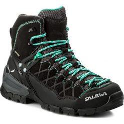 Trekkingi SALEWA - Alp Trainer Mid Gtx GORE-TEX 63433-0969 Black Out/Agata. Czarne buty trekkingowe damskie Salewa. W wyprzedaży za 759,00 zł.