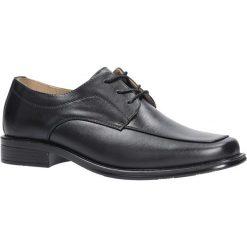 Czarne buty wizytowe sznurowane Casu FY1720. Czarne buty wizytowe męskie Casu, na sznurówki. Za 69,99 zł.
