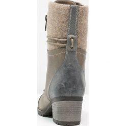 Botki damskie lity: Rieker Botki jeans/kiesel/fango/wood
