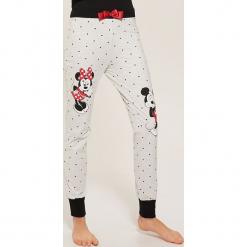 Spodnie piżamowe Disney - Jasny szar. Szare piżamy damskie House, l, z motywem z bajki. Za 49,99 zł.