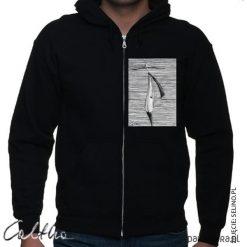 Kapelusz - bluza rozpinana unisex. Czarne bluzy męskie rozpinane Pakamera, m, z kapturem. Za 149,00 zł.