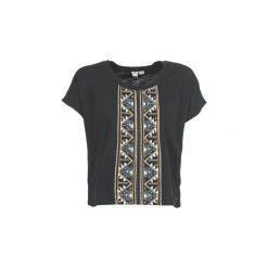 T-shirty z krótkim rękawem Roxy  SAILAWAY. Białe t-shirty damskie marki Roxy, l, z nadrukiem, z materiału. Za 127,20 zł.