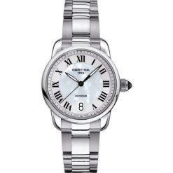 PROMOCJA ZEGAREK CERTINA DS. PODIUM LADY. Białe zegarki damskie CERTINA, ze stali. W wyprzedaży za 1220,00 zł.