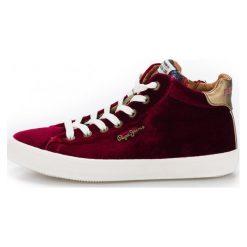 Pepe Jeans Damskie Tenisówki  Pls30768_Aw18 38 Burgund. Czerwone trampki i tenisówki damskie Pepe Jeans, z jeansu. Za 366,00 zł.