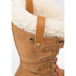 Sorel JOAN OF ARCTIC Śniegowce caramel nectar. Czarne buty zimowe damskie marki Sorel, z materiału. W wyprzedaży za 519,35 zł.