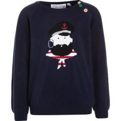 Swetry chłopięce: Fred's World by GREEN COTTON CAPTAIN Sweter navy