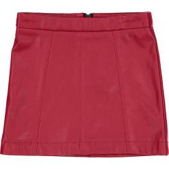 """Spódnica """"Takin' It Straight"""" w kolorze czerwonym. Czerwone spódniczki dziewczęce marki 4FunkyFlavours Kids, ze skóry, mini. W wyprzedaży za 102,95 zł."""