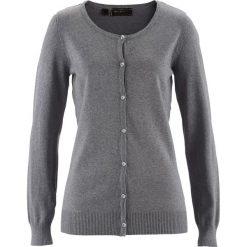 Sweter rozpinany bonprix szary melanż. Szare kardigany damskie marki Mohito, l. Za 69,99 zł.