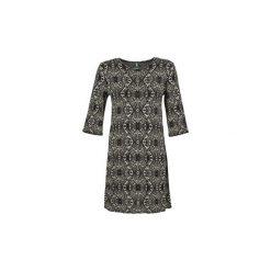 Sukienki krótkie Benetton  IXIMA. Sukienki małe czarne marki Benetton, l, z krótkim rękawem. Za 279,20 zł.