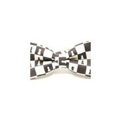 Mucha Chess Style. Białe muchy męskie Edyta kleist, z bawełny, eleganckie. Za 99,00 zł.