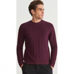 Bluza ze strukturalnej dzianiny - Bordowy. Czerwone bluzy męskie marki KALENJI, m, z elastanu, z długim rękawem, długie. Za 99,99 zł.