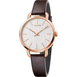 ZEGAREK CALVIN KLEIN CK LADY EVEN ROSE GOLD PVD K7B236G6. Szare zegarki damskie marki Calvin Klein, szklane. Za 1119,00 zł.