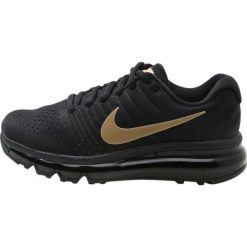 Buty do biegania damskie: Nike Performance AIR MAX 2017 Obuwie do biegania treningowe black/metallic gold