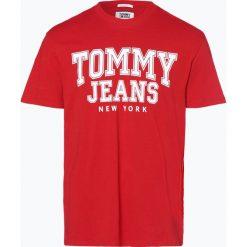 T-shirty męskie z nadrukiem: Tommy Jeans - T-shirt męski, czerwony