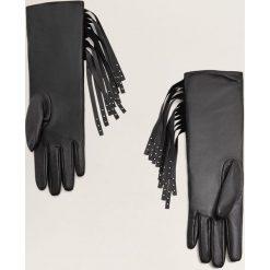 Mango - Rękawiczki skórzane Special. Czarne rękawiczki damskie Mango. Za 119,90 zł.
