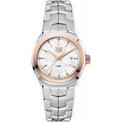 ZEGAREK TAG HEUER LINK WBC1350.BA0600. Białe zegarki damskie marki TAG HEUER, szklane. Za 9790,00 zł.