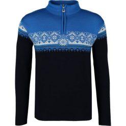 Swetry klasyczne męskie: Dale of Norway ST. MORITZ Sweter navy/sochi blue/cobalt/off white