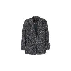 Płaszcze Vero Moda  SALT. Czarne płaszcze damskie pastelowe Vero Moda, l. Za 247,20 zł.