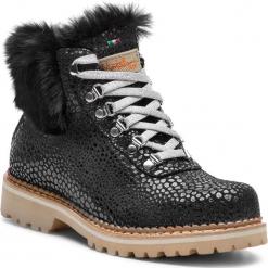 Trapery MONTELLIANA - Clara M1705 Black. Czarne buty zimowe damskie Montelliana, z polaru. Za 1610,00 zł.