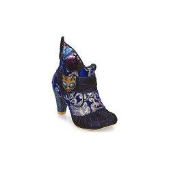 Botki Irregular Choice  Miaow. Niebieskie botki damskie marki Irregular Choice. Za 589,00 zł.