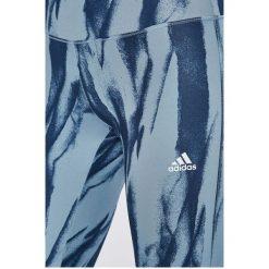 Adidas Performance- Legginsy. Czerwone legginsy marki adidas Performance, m. W wyprzedaży za 139,90 zł.