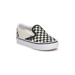 Tenisówki Dziecko  Vans  CLASSIC SLIP ON KIDS. Białe buty sportowe chłopięce marki Vans. Za 159,00 zł.